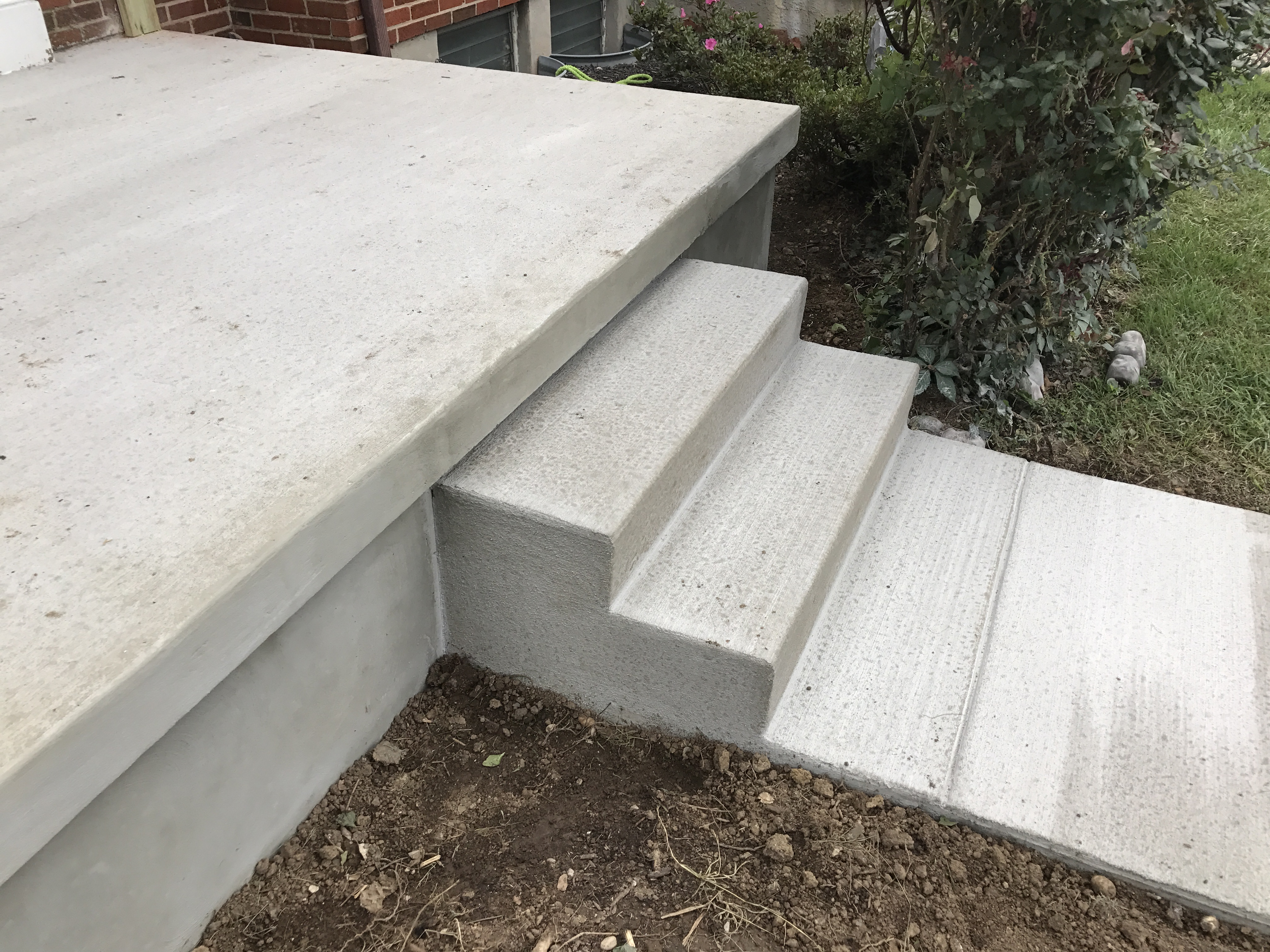 Site Concrete Examples Chevy Chase Contractors